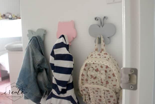 Girl Bedroom Hooks
