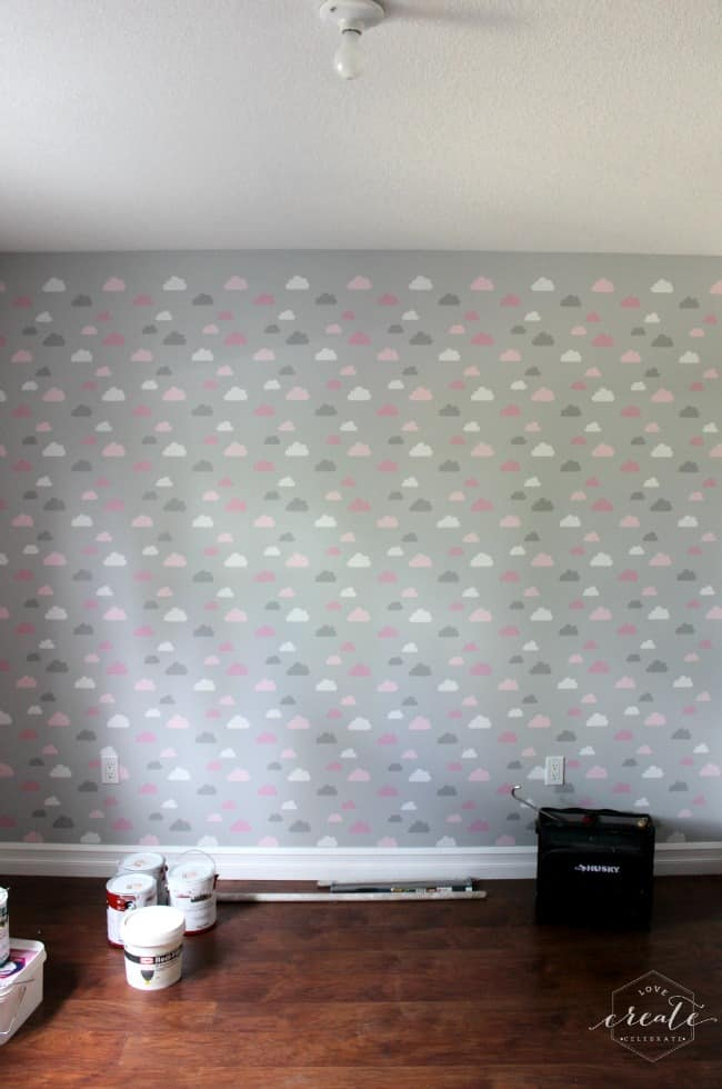 Completed wall- my daughter loves it!