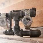Industrial Watch Holder