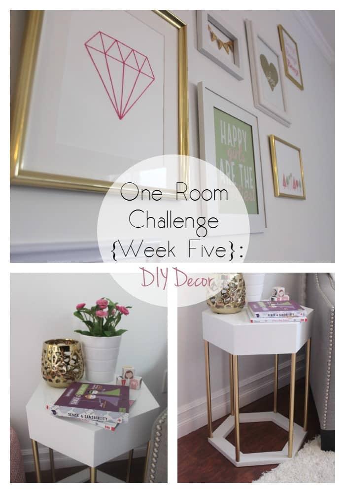 One Room Challenge Week 5