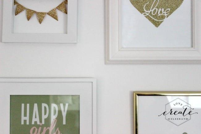 gallery wall sneak peek