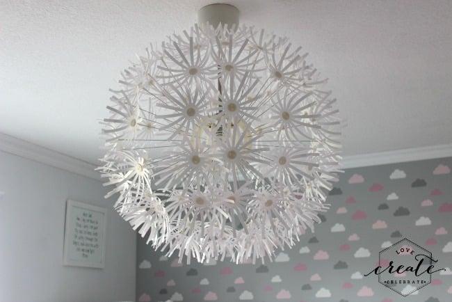 light fixture done