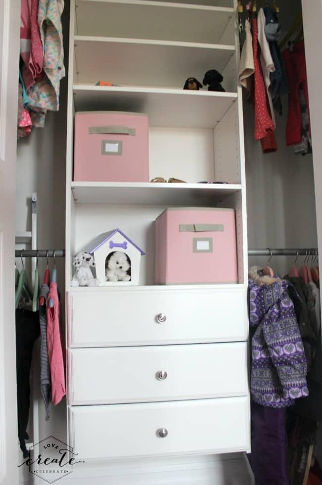 new closet