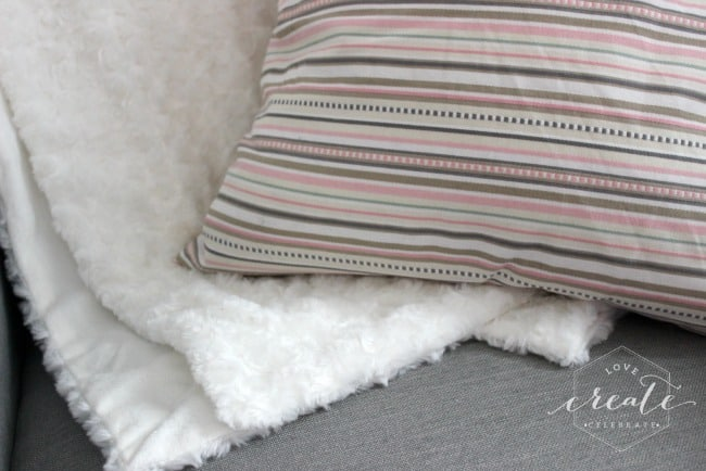 pillow and throw