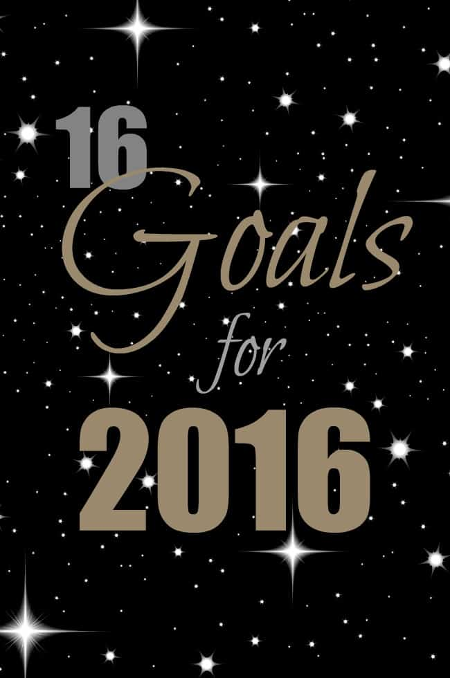 16 Goals for 2016