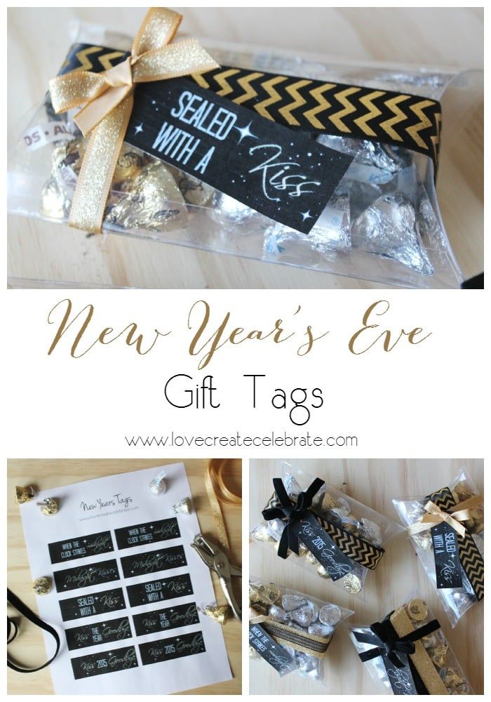 New Year's Eve Gift Tags