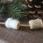 Winter Spool Garland