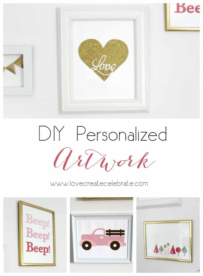 DIY Personalized Artwork