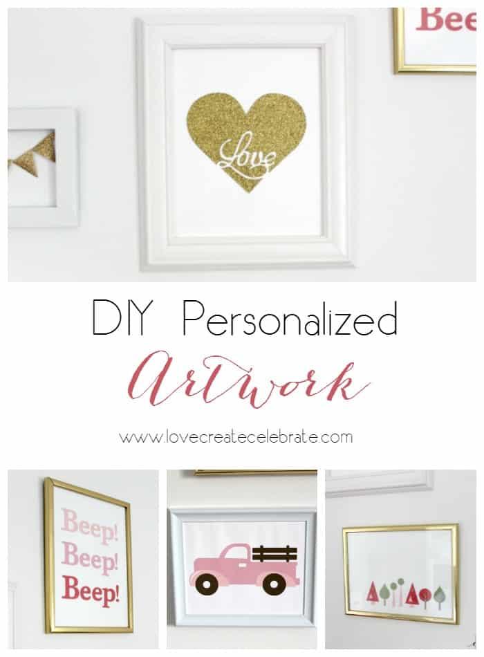 DIY Personalized Artwork