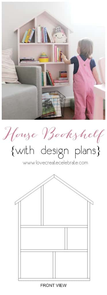 House Bookshelf DIY