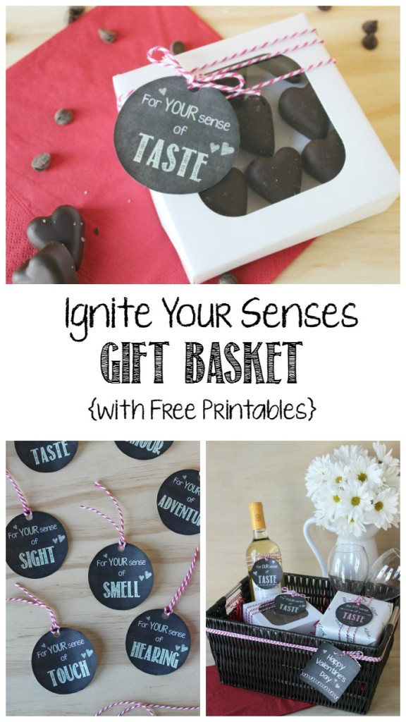 Ignite Your Senses Gift Basket