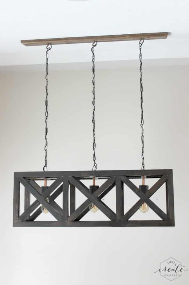 Industrial Pendant Light Love Create Celebrate