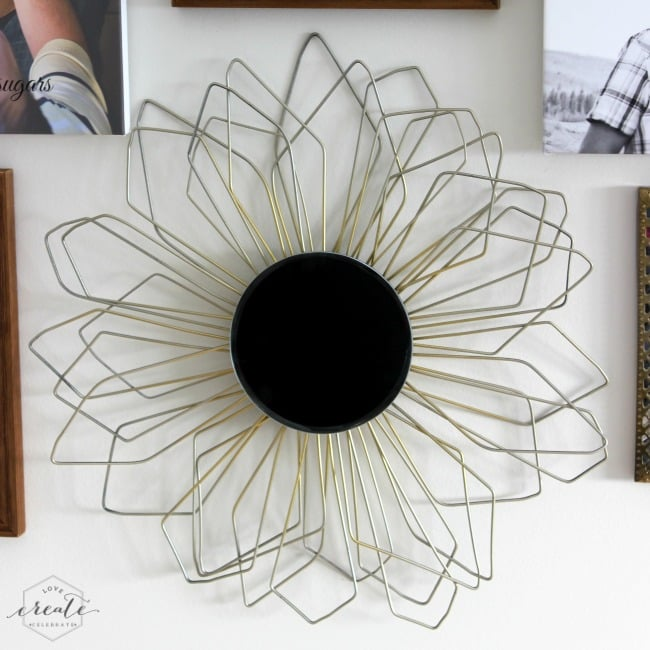 This gorgeous sunburst mirror is a fun DIY project inspired by the popular Anthropologie design