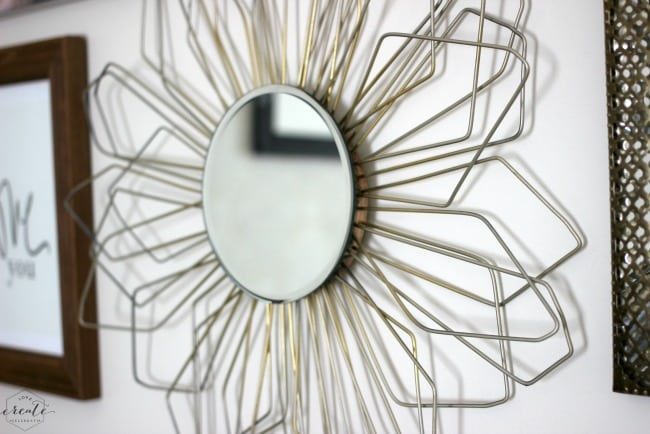 A sunburst mirror is an amazing DIY addition to any room
