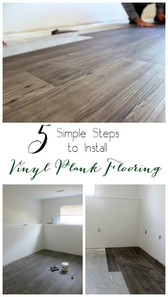 5 Steps to Install Vinyl Plank Flooring