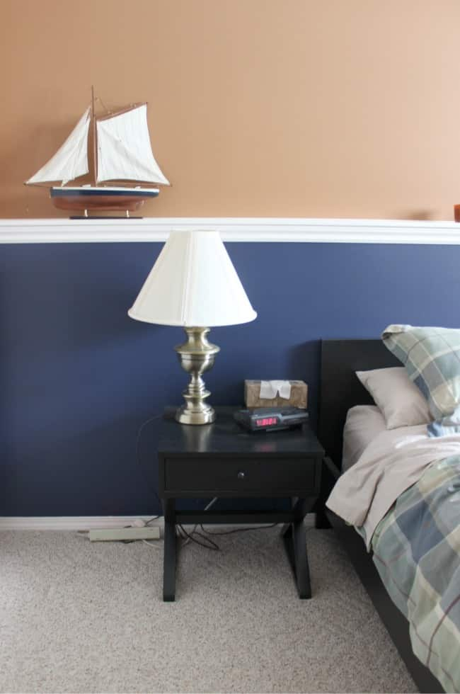 This guest bedroom was ready for a refresh