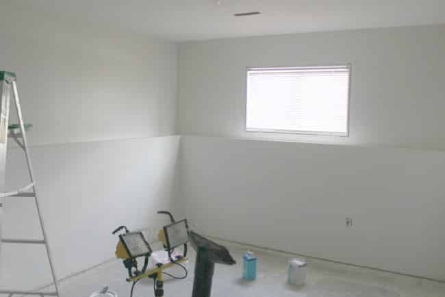 Bright Basement Paint Colour