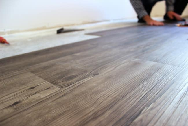 Carefully placing your vinyl flooring