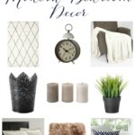 One Room Challenge {Week Four} – Modern Bedroom Decor