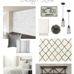 One Room Challenge {Week One} – Modern Industrial Guest Room