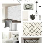 One Room Challenge {Week One} – Modern Industrial Guest Room