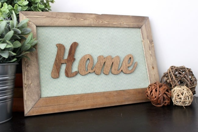 How to Make Your Own Wood Sign - Love Create Celebrate