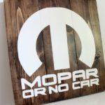 "DIY Man Cave Decor: ""Mopar or No Car"""