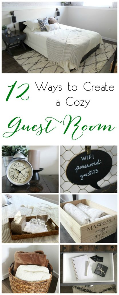 Love these guest room ideas! Perfect for creating a welcoming guest space!