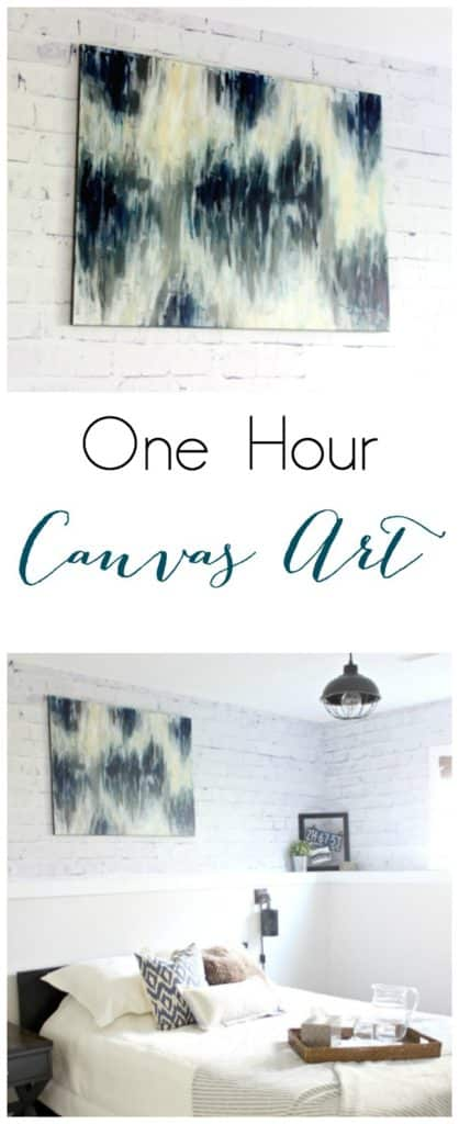 How To Diy Canvas Art In Under An Hour Love Create