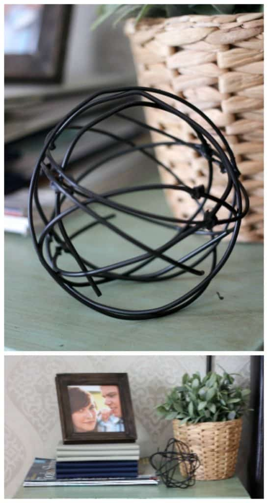 Decorative Metal Orbs
