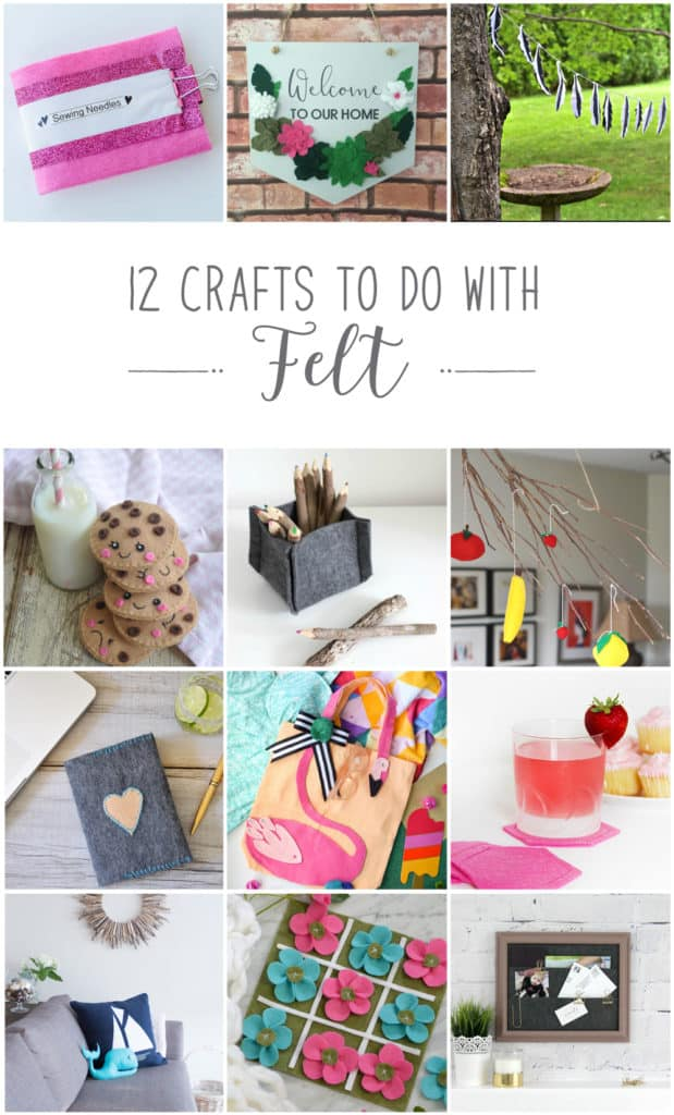 12 crafts to create with felt
