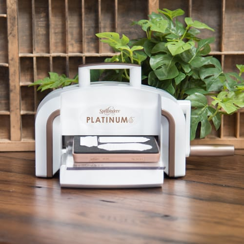 I used this awesome  Platinum 6 machine from Spellbinders for this DIY wooden magnets project