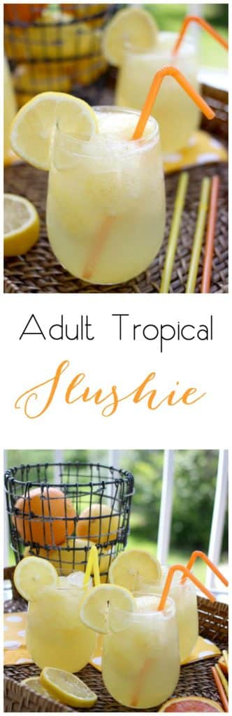 Adult Tropical Slushie