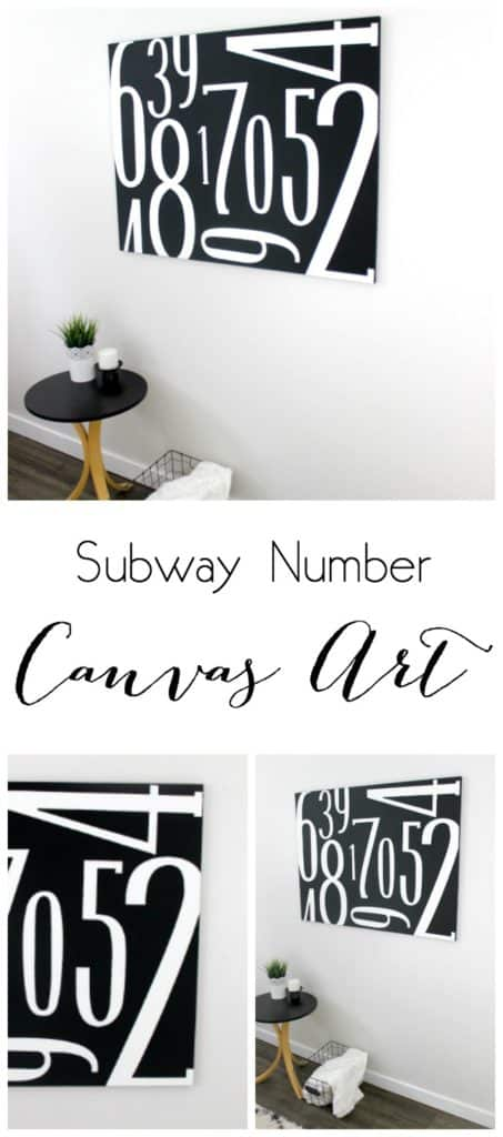 Subway Canvas Art Collage