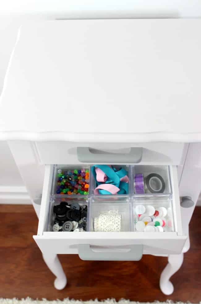 kids craft station idea
