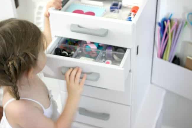 opening drawers