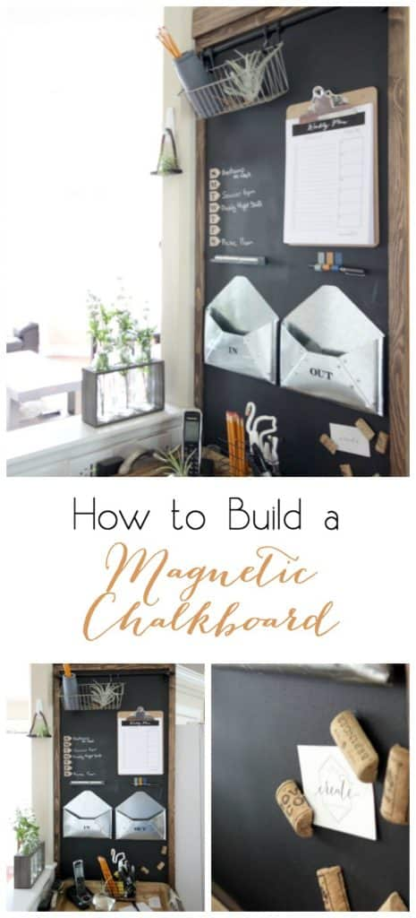 How to Build a Magnetic Chalkboard