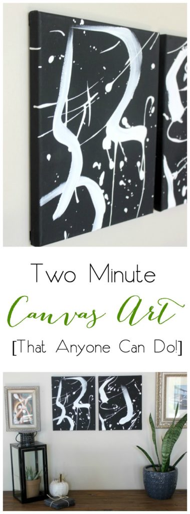 The easiest artwork idea out there! Anyone can do this in less than 2 minutes! Love the video tutorial!