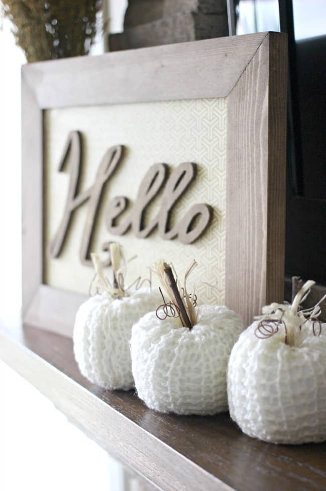 Fall home accents