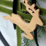 DIY Modern Christmas Wreath