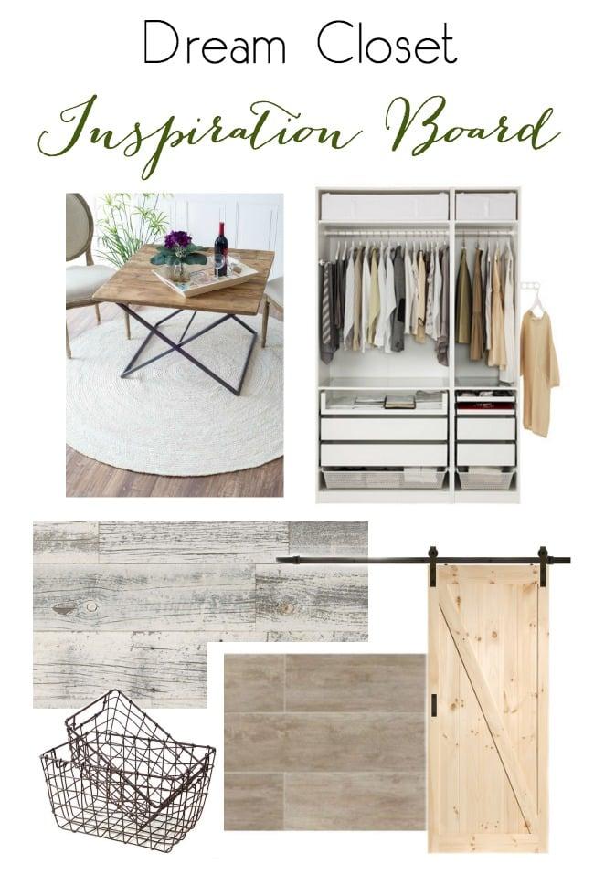 A dream walk-in closet space! Love the neutral palette!