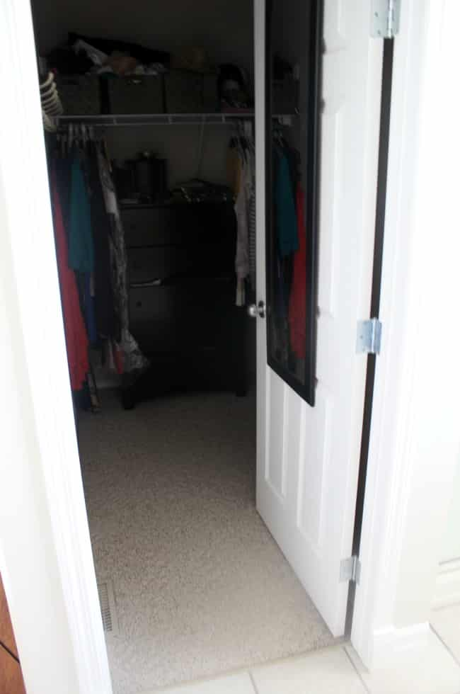 One Room Challenge Dream Closet