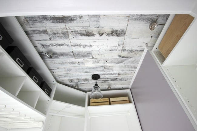 Make a statement in no time at all, by adding a beautiful, rustic weathered wood ceiling or feature wall to your home! The video tutorial shows you just how easy it is!