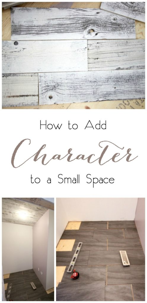 Adding Character to a Small Space