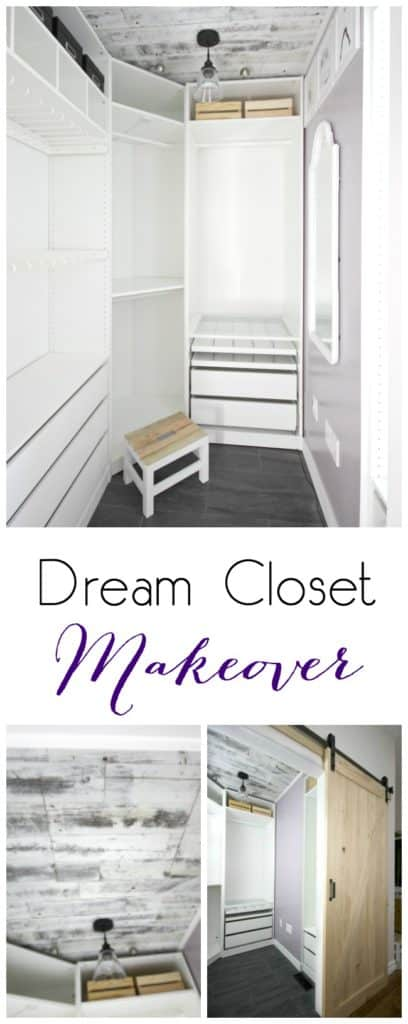 Dream closet makeover reveal love create celebrate for Dream room maker