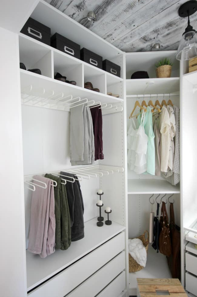 This is truly a dream closet makeover!