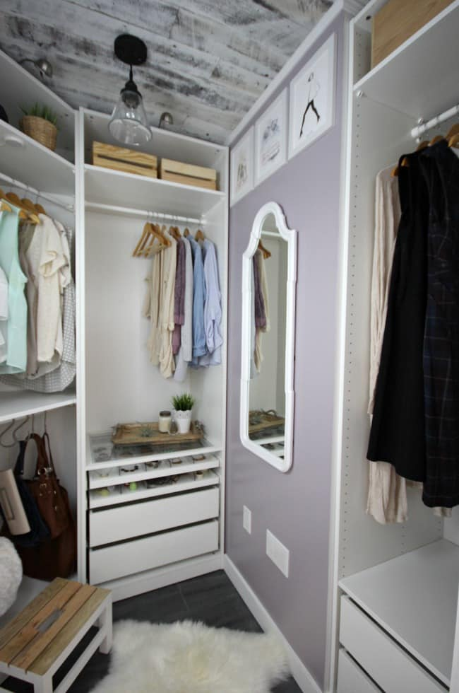 Who wouldn't love a dream closet makeover?!