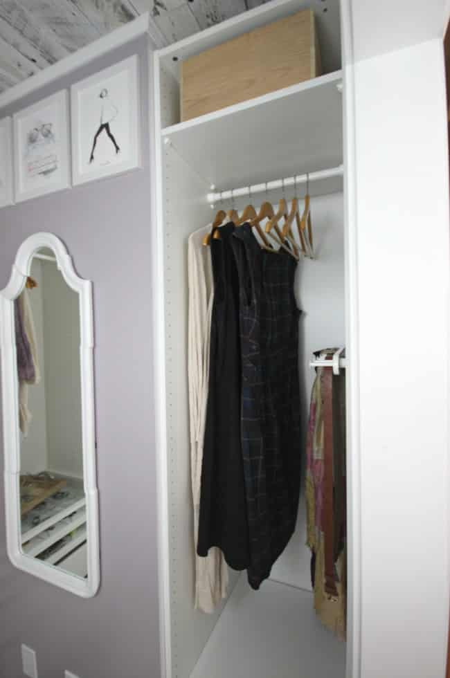 A beautiful closet transformation!