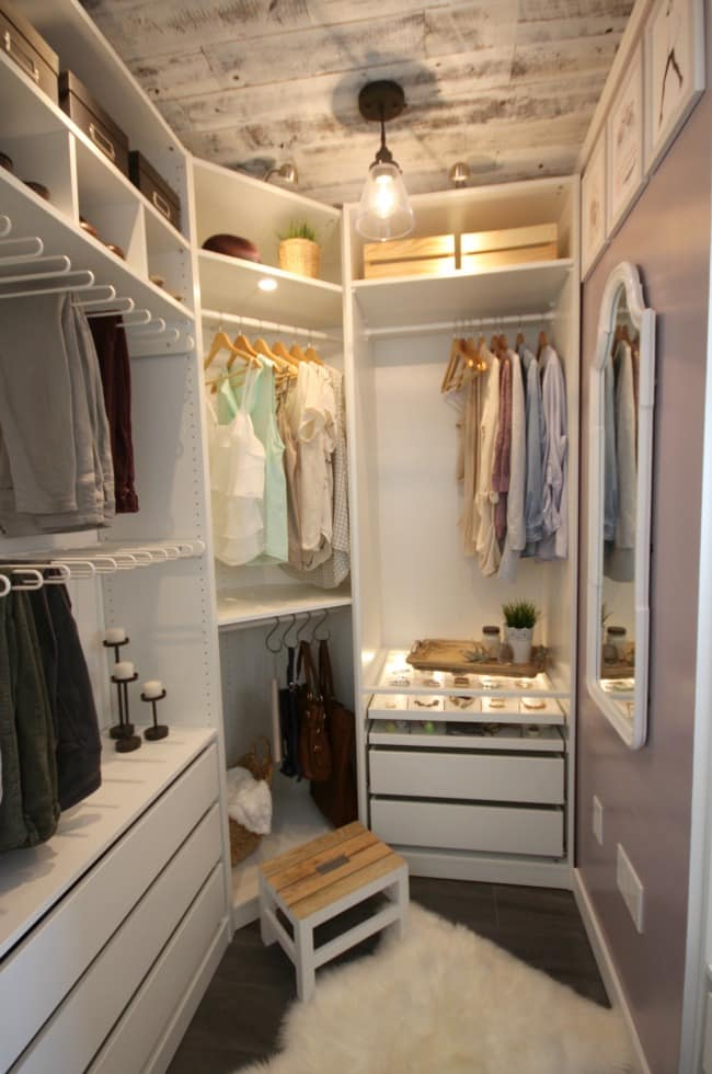 closet makeover-my favorites