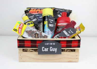 Gift Crates for Guys